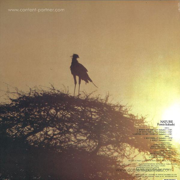Fumio Itabashi - Nature (Vinyl Only / Ltd!) (Back)