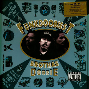 Funkdoobiest - Brothas Doobie (Ltd. 25th Anniv. Blue Vinyl LP) (Back)