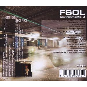 Future Sound Of London,The - Environments Vol.3 (Back)