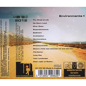 Future Sound Of London,The - Environments Vol.4 (Back)