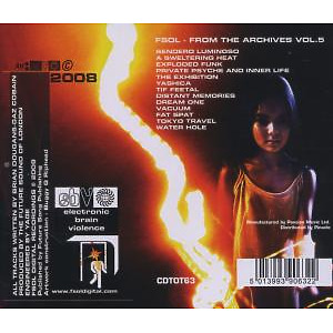 Future Sound Of London,The - From The Archives Vol.5 (Back)