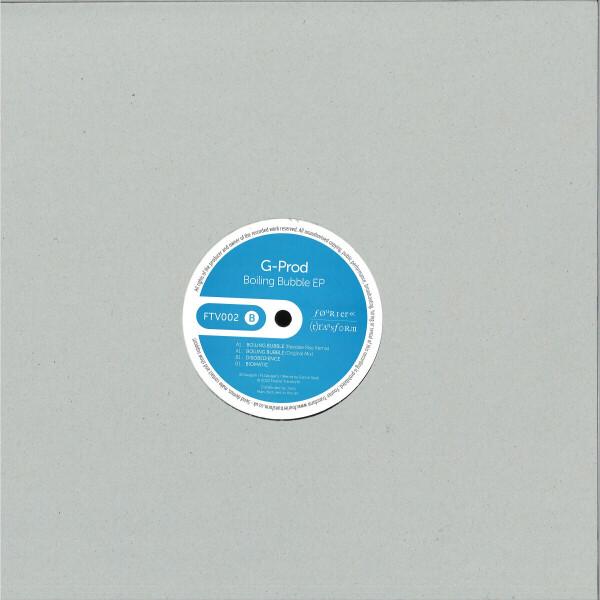 G Prod - Boiling Bubble EP (including Reedale Rise remix) (Back)
