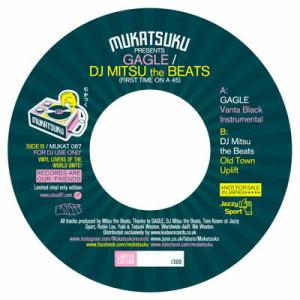 GAGLE / DJ Mitsu The Beats - Vanta Black Instrumental / Old Town Uplift