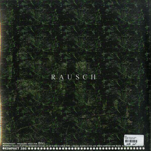 GAS - Rausch (2LP + Download Code) (Back)
