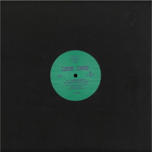 GEE DEE - OCEAN WALK EP (Back)