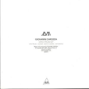 GIOVANNI CAROZZA - SPECTRUM EP (Back)