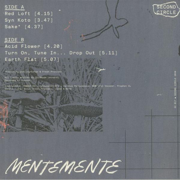 GIUSEPPE LEONARDI - MENTEMENTE (Back)