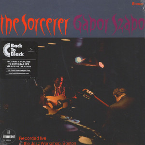 Gabor Szabo - The Sorcerer (Back To Black Ltd.Ed.+DL-Code)