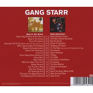 Gang Starr - 2in1 (Step In The Arena/Daily Operation) (Back)