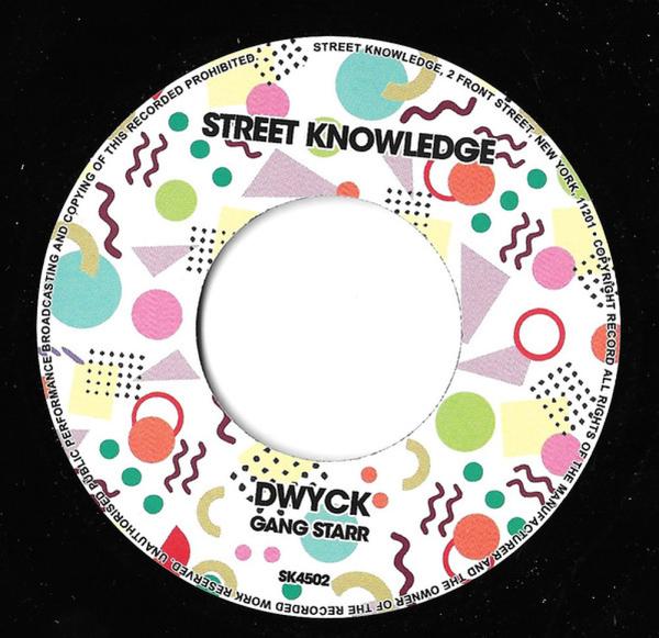 Gang Starr - Full Clip / Dwyck (Dinked Vinyl) (Back)