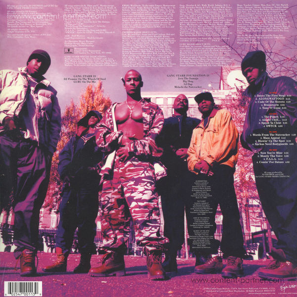 Gang Starr - Hard To Earn (Back)