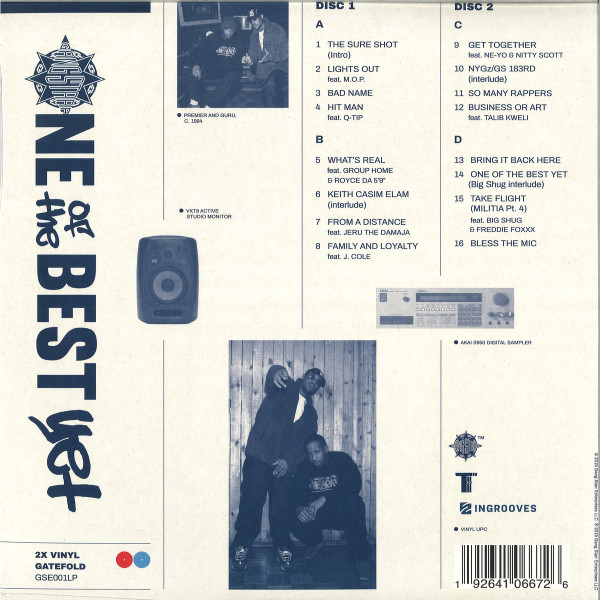 Gang Starr - One Of The Best Yet (2LP) (Back)