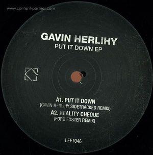 Gavin Herlihy - Put It Down VINYL ONLY