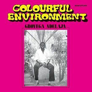 Gboyega Adelaja - Colourful Environment