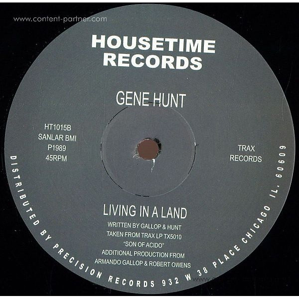 Gene Hunt - Living In A Land