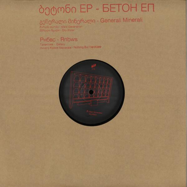 Generali Minerali / RNBWS - BETON EP