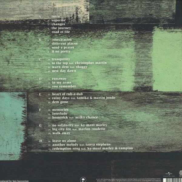Gentleman - MTV Unplugged (4LP) (Back)