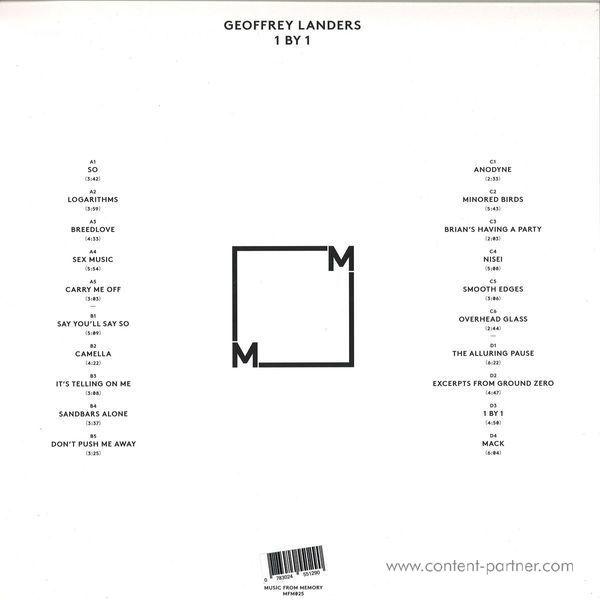 Geoffrey Landers - 1 By 1 (Back)
