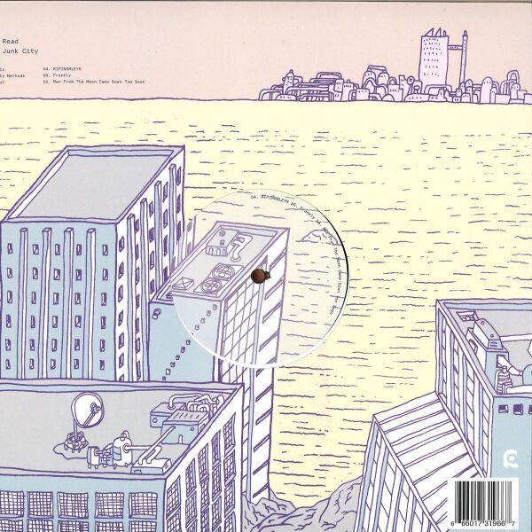 Gerry Read - New Junk City (Back)
