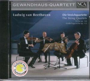 Gewandhaus-Quartett - Streichquartett op.130/Fuge op.133
