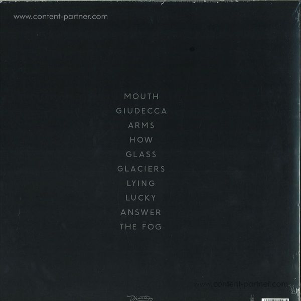 Ghost Culture - The Album - Debut Self-Titled LP (Back)