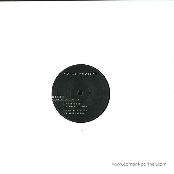 Giash - Mosaic Floors EP (Vinyl Only) (Back)