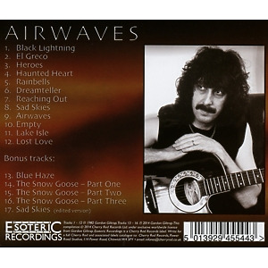 Giltrap,Gordon Band - Airwaves (Expanded+Remastered Edition) (Back)