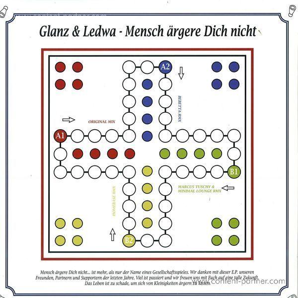 Glanz & Ledwa - Mensch ärgere dich nicht (Bebetta Remix) (Back)
