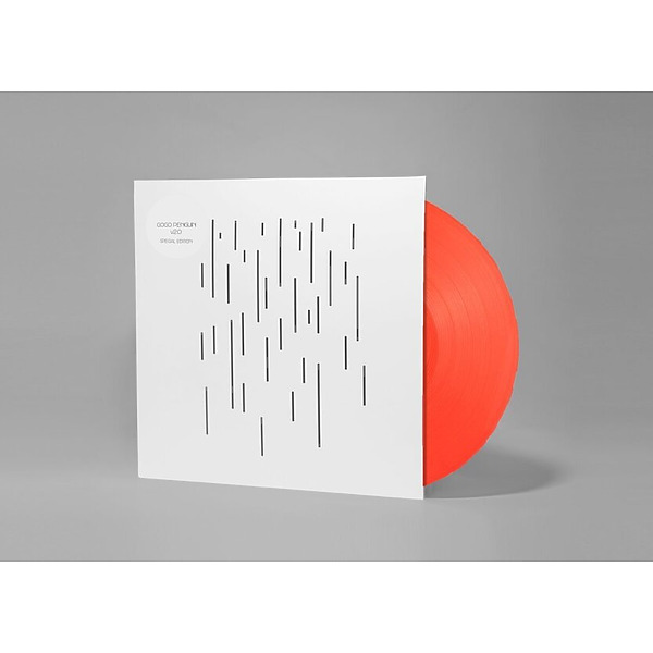 GoGo Penguin - V2.0 (Ltd. Orange Vinyl 2LP) (Back)