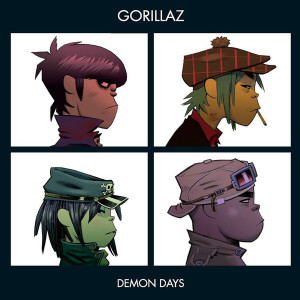 Gorillaz - Demon Days (2LP) (Back)