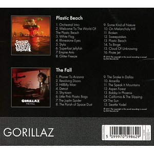 Gorillaz - Plastic Beach/The Fall (Back)