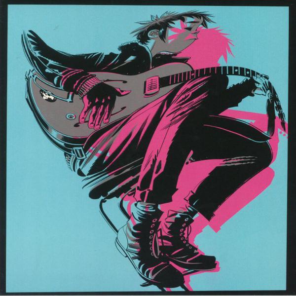 Gorillaz - The Now Now (180 LP) (Back)