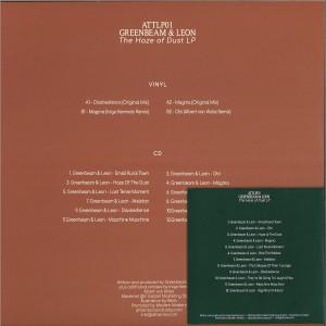 Greenbeam & Leon remix Inigo Kennedy / Albert Van - The Haze of Dust (Back)