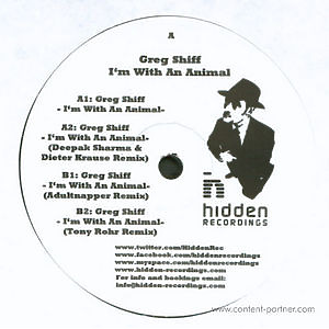 Greg Shiff - I'm With An Animal EP (adultnapper rmx)