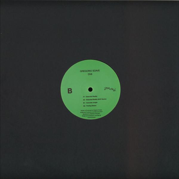 Gregorio Soave - DV8 EP (Back)