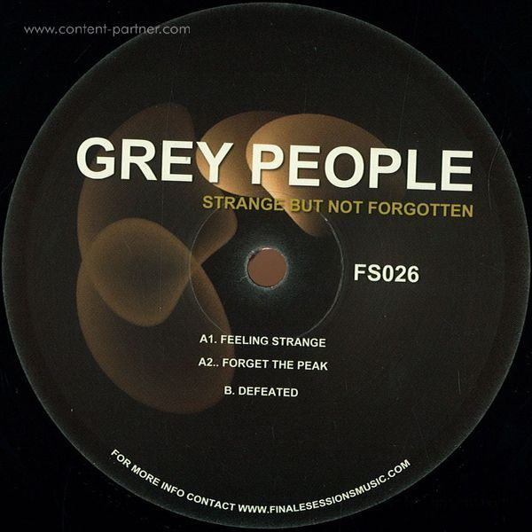 Grey People - Strange But Not Forgotten