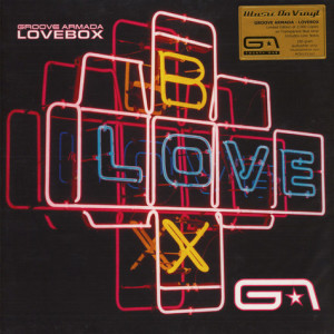 Groove Armada - Lovebox (Ltd. Blue Transp. 2LP)
