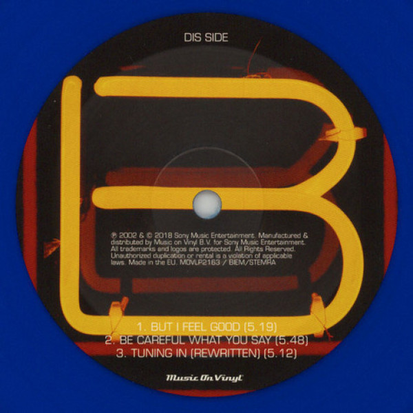 Groove Armada - Lovebox (Ltd. Blue Transp. 2LP) (Back)