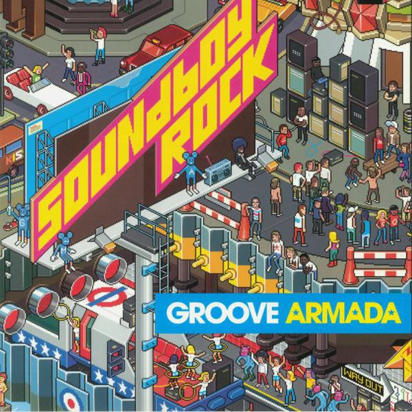 Groove Armada - Soundboy Rock (Ltd. Pink/Yellow 2LP)