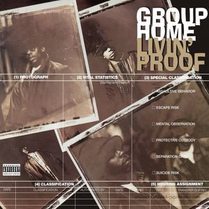 Group Home - Livin' Proof (2LP (reissue)