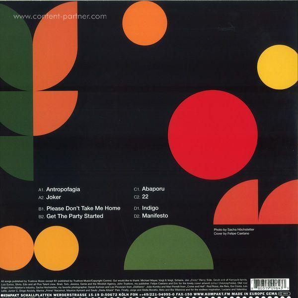 Gui Boratto - Abaporu (2x12'' + CD) (Back)