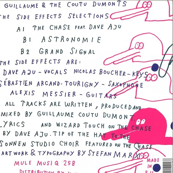 Guillaume & The Coutu Dumonts - The Chase (Back)