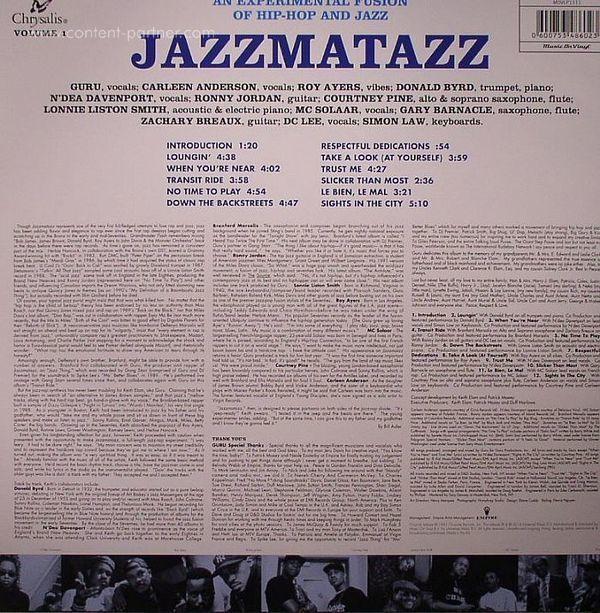 Guru - Jazzmatazz (180g LP) (Back)
