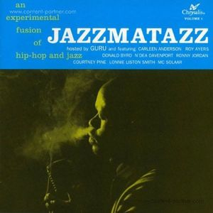 Guru - Jazzmatazz (Ltd. 180g LP Blue Vinyl)