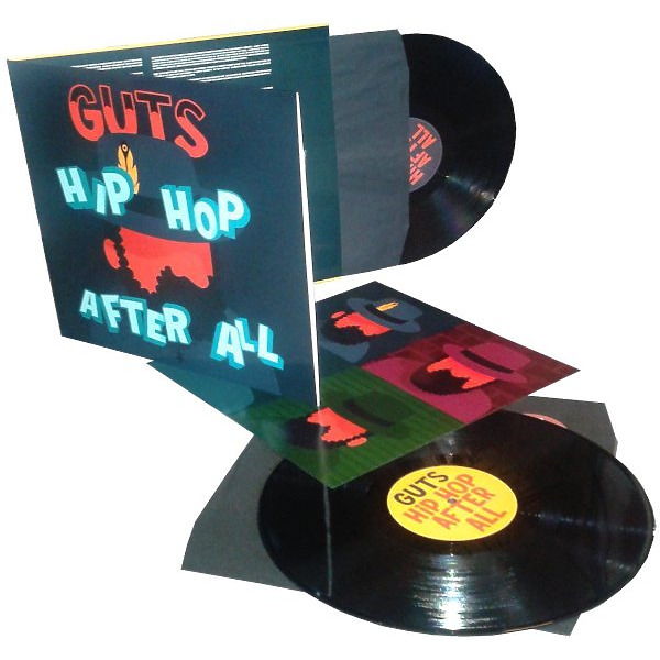 Guts - HipHop After All (2LP Reissue, Gatefold) (Back)