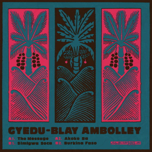Gyedu-Blay Ambolley - Gyedu-Blay Ambolley (Coloured Vinyl)