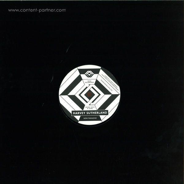 HARVEY SUTHERLAND - BERMUDA EP (Back)
