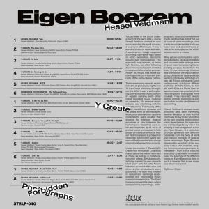 HESSEL VELDMAN - EIGEN BOEZEM (Back)