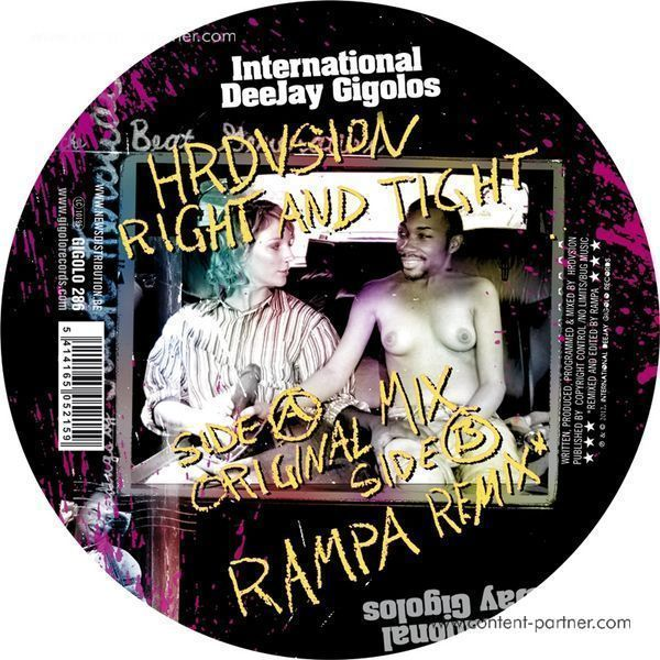 HRDVSION - RIGHT AND TIGHT EP (RAMPA RMX)