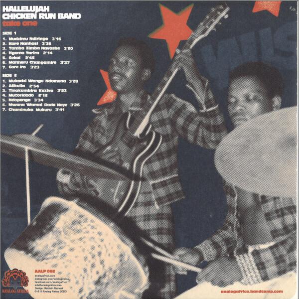 Hallelujah Chicken Run Band - Take One (LP) (Back)
